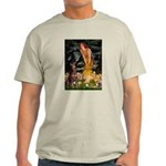 Fairies & Red Doberman Light T-Shirt