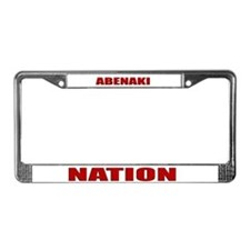 Abenaki Nation License Plate Frame
