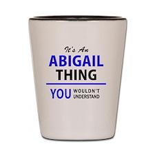 Cute Abigail Shot Glass