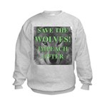 Help Idaho Wolves Kids Sweatshirt