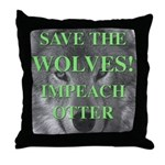 Help Idaho Wolves Throw Pillow