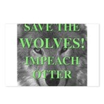 Help Idaho Wolves Postcards (Package of 8)