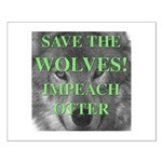 Help Idaho Wolves Small Poster