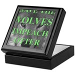 Help Idaho Wolves Keepsake Box