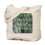 Help Idaho Wolves Tote Bag