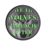 Help Idaho Wolves Wall Clock