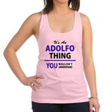 Cute Adolfo Racerback Tank Top