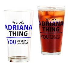 Cute Adriana Drinking Glass