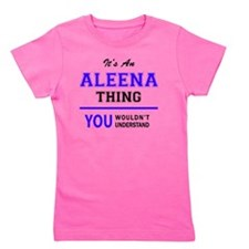Cute Aleena Girl's Tee