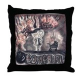 Cute My book covers Throw Pillow
