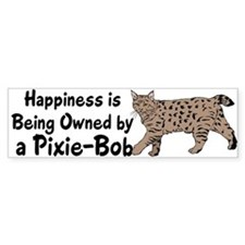 Pixie-Bob (color) Bumper Bumper Sticker