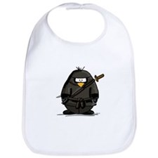 Martial Arts ninja penguin Bib