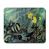 Saltwater Fish Scene Mousepad