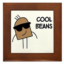 Cool Beans Framed Tile