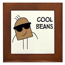 Cool Beans Framed Tile