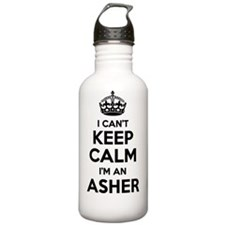 Funny Asher Water Bottle