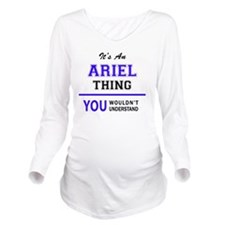Unique Arielle Long Sleeve Maternity T-Shirt