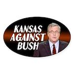 Kansas Against Jeb Bush Sticker