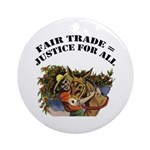 Fair Trade Ornament (Round)