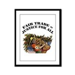 Fair Trade Framed Panel Print