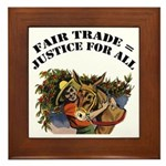 Fair Trade Framed Tile