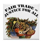 Fair Trade Tile Coaster