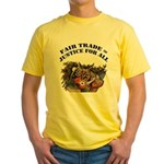 Fair Trade Yellow T-Shirt