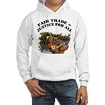 Fair Trade Hooded Sweatshirt