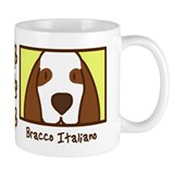 Anime Bracco Italiano Small Mugs