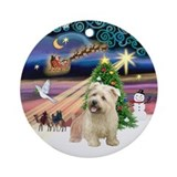 Xmas Magic &amp; Glen of Imaal Ornament (Round)