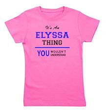 Cute Elyssa Girl's Tee