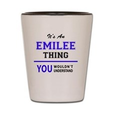 Cute Emilee Shot Glass