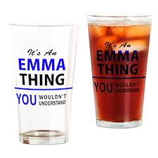 Cute Emma Drinking Glass