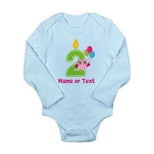 2nd Birthday Long Sleeve Infant Bodysuit