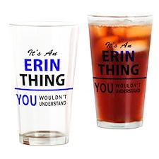 Unique Erin Drinking Glass