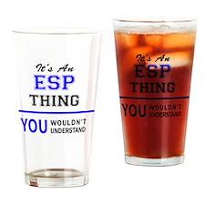 Cute Esp Drinking Glass