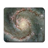M51 the Whirlpool Galaxy Mousepad