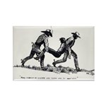 Boot Hill Rectangle Magnet (100 pack)
