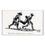 Boot Hill Rectangle Sticker