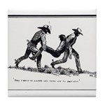 Boot Hill Tile Coaster