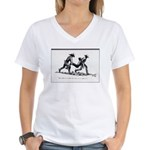 Boot Hill Women's V-Neck T-Shirt
