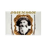 Liver eating Johnson Jeremiah Rectangle Magnet
