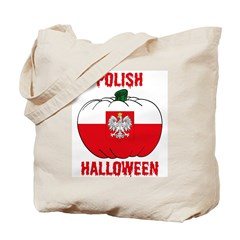 Polish Halloween Tote Bag