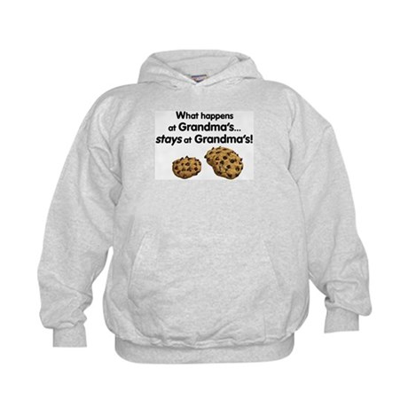 Stays at Grandmas! Kids Hoodie