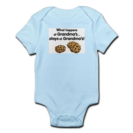 Stays at Grandmas! Infant Bodysuit