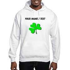Custom Green Shamrock Hoodie