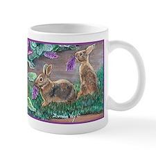 Cottontail rabbits Mug