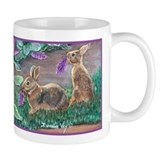 Cottontail rabbits Small Mug