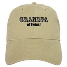 Grandpa of Twins Baseball Cap