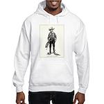 1920s Movie Cowboy Hooded Sweatshirt